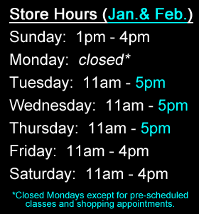 Beads N Things Pittsford Winter Shopping Hours